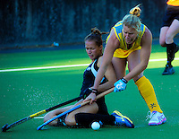 141118 International Women's Hockey - NZ Black Sticks v Australia Hockeyroos