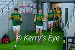 David Clifford, Kerry leads out The Kerry team for extra time during the Munster GAA Football Senior Championship Semi-Final match between Cork and Kerry at Páirc Uí Chaoimh in Cork.