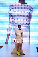 """BOGOTÁ -COLOMBIA. 08-05-2013. Desfile Essential Looks - Pasarela Schwarzkopf en el marco del CÍRCULO DE LA MODA DE BOGOTÁ """"Evolución – OTOÑO INVIERNO 2013´14""""./ Fashion  Essential Looks - gateway Schwarzkopf during second day of BOGOTA FASHION 2013 """"Evolution - Autumn - Winter 2013-14""""  Photo: VizzorImage / Str"""