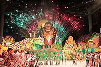 PARINTINS, AM, 29.06.2019: PARINTINS-AMAZONAS. Apresentação do Boi Garantido na segunda noite do 54o festival Folclorico de Parintins, neste sábado (29), no bumdódromo. Parintins fica a 370 km de Manaus.<br /> Foto: Sandro Pereira/Codigo19