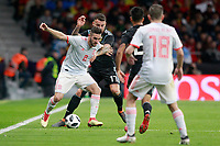 Spain's Koke Resurreccion (l) and Argentina's Maximiliano Meza during international friendly match. March 27,2018.(ALTERPHOTOS/Acero) /NortePhoto.com NORTEPHOTOMEXICO
