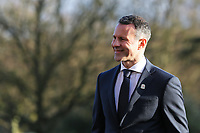 Ryan Giggs walks outside the venue during the Wales Unveiling  Of The New Manager at Hensol Castle, Vale of Glamorgan, Wales, UK. Monday 15 January 2018