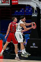 armani - Panatinaikos eurolega basket 2020-2021 - Milano 3 dicembre 2020 - nella foto: papapetrou