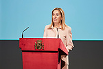 Ana Pastor attends to the Reading of the Spanish Constitution for the 40th anniversary of its approval by the Congress at Instituto Cervantes in Madrid, Spain. October 31, 2018. (ALTERPHOTOS/A. Perez Meca)