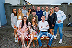 Desiree Fitzgerald from Tralee celebrating her 21st at home on Saturday night with her family and friends. Seated l to r: Melissa and Desiree Fitzgerald, Tim Horan. Back l to r: racheal Fitzgerald, Megan Hickey, Dylan Kelliher, Andrea Fitzgerald, Daniel Fleming, Martin Stack, Jamesie O'Donoghue, Eoin Murphy, Agrit Puzamova, Pam Gill and Hayden Fitzgerald.