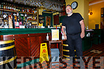 Maurice Moroney from the Horseshoe Bar & Restaurant in Kenmare who's property was damaged due to the floods in Kenmare on Thursday morning.