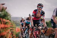 Dylan Teuns (BEL/BMC) up La Redoute<br /> <br /> 104th Liège - Bastogne - Liège 2018 (1.UWT)<br /> 1 Day Race: Liège - Ans (258km)