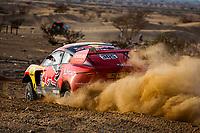 31st December 2020, Jeddah, Saudi Arabian. The vehicle and river shakedown for the 2021 Dakar Rally in Jeddah;   305 Loeb S bastien fra, Elena Daniel mco, Hunter, Bahrain Raid Xtreme, Auto, BRX, action during the shakedown of the Dakar 2021 in Jeddah