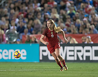 San Diego, Ca - Sunday, January 21, 2018: Lindsey Horan during a USWNT 5-1 victory over Denmark at SDCCU Stadium.