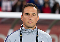CARSON, CA - FEBRUARY 7: Milan Ivanovic of the United States watches the team during a game between Mexico and USWNT at Dignity Health Sports Park on February 7, 2020 in Carson, California.