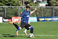 Scott Midgley of the Miramar Rangers during the Central League Football - Miramar Rangers AFC v Wainuiomata AFC at David Farrington Park, Wellington, New Zealand on Saturday 17 April 2021.<br /> Copyright photo: Masanori Udagawa /  www.photosport.nz