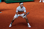 Kei Nishikori during the Mutua Madrid Open Masters match on day 7 at Caja Magica in Madrid, Spain. May 09, 2019. (ALTERPHOTOS/A. Perez Meca)
