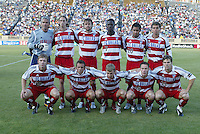 14 May 2005: Starting Line-up of FC Dallas before the game against Earthquakes at Spartan Stadium in San Jose, California.   Earthquakes tied FC Dallas, 0-0.   Credit: Michael Pimentel