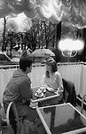 Cafe Paris - Boston, MA, Infrared Film