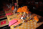 """One of the tables at the Museum of Fine Arts Houston's 2013 Grand Gala """"India"""" Friday Oct. 04,2013.(Dave Rossman photo)"""