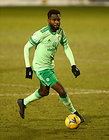 10th February 2021; St Mirren Park, Paisley, Renfrewshire, Scotland; Scottish Premiership Football, St Mirren versus Celtic; Odsonne Edouard of Celtic on the ball