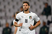 Manuel Locatelli of Italy looks on during the friendly football match between Italy and Moldova at Artemio Franchi Stadium in Firenze (Italy), October, 7th 2020. Photo Andrea Staccioli/ Insidefoto
