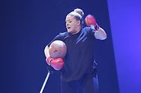 L'Humoriste Valerie Blais<br /> en spectacle, le 14 novembre 2014<br /><br />PHOTO : Agence Quebec Presse
