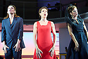 Woman On The Verge of A Nervous Breakdown The Musical. Based on the movie by Pedro Almodovar. Music and Lyrics by David Yazbek,Book by Jeffrey Lane, directed by Bartlett Sher. With Willermijn Verkaik as Paulina, Tamsin Greig as Pepa Marco, Haydn Gwynne as Lucia. Opens at The Playhouse Theatre on 12/1/15. CREDIT Geraint Lewis