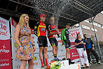 Pix: Shaun Flannery/shaunflanneryphotography.com<br /> <br /> COPYRIGHT PICTURE>>SHAUN FLANNERY>01302-570814>>07778315553>><br /> <br /> 19th June 2016<br /> Doncaster Cycle Festival 2016<br /> Whinfrey Briggs Elite Men's Race<br /> Sponsored by Whinfrey Briggs<br /> Graham Brigges JLT Condor celebrates.