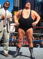 King Kong Bundy  Ted Dibiase  1995                                       Photo By John Barrett/PHOTOlink
