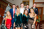 Pictured at the South & Mid Kerry Rowing Social in The Royal Hotel Valentia on Sunday night from Cromane were front l-r; Nicole Scannell, Ellie Costello, Maggie Teehan, Toni Walsh, back l-r; Conor McKenna, Gerard Durkan, Owen Teehan & Fionán Walsh.
