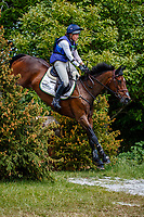 GBR-Kirsty Chabert rides Classic VI during the Cross Country for the CCI-L 4*. 2021 GBR-Bicton International Horse Trials. Devon. Great Britain. Saturday 12 June. Copyright Photo: Libby Law Photography