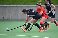 Wairarapa v Central Otago. 2021 National Women's Under-18 Hockey Tournament day five at National Hockey Stadium in Wellington, New Zealand on Thursday, 15 July 2021. Photo: Dave Lintott / lintottphoto.co.nz https://bwmedia.photoshelter.com/gallery-collection/Under-18-Hockey-Nationals-2021/C0000T49v1kln8qk