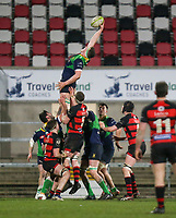 Friday 6th March 2020 | Armagh RFC vs Ballynahinch RFC<br /> <br /> John Donnan during the Bank Of Ireland Ulster Senior Cup Final between the City of Armagh RFC and Ballynahinch RFC at Kingspan Stadium, Ravenhill Park, Belfast, Northern Ireland. Photo by John Dickson / DICKSONDIGITAL