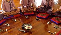 MEDITATION IN A SPA, GROUP MEDITATION ,THAILAND