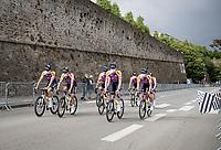 pre Tour teams presentation of the 108th Tour de France 2021 in Brest at Le Grand Départ <br /> <br /> ©kramon