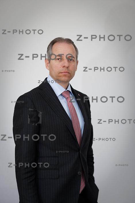 Interview und Portrait von Philipp GmŸr ist Vorsitzender der GeschŠftsleitung Schweiz der Helvetia Versicherungsgesellschaft am 17. MŠrz 2015 in Luzern<br /> <br /> Copyright © Zvonimir Pisonic