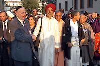 """- meeting ?Religions and Cultures? organized by the S.Egidio Community in Milan, Rabbi, Indian Sikh and Shinto monk....- meeting """"Religioni e Culture"""" organizzato dalla Comunità S.Egidio a Milano, Rabbino, indiano Sickh e monaco Scintoista"""