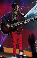 20/11/131<br /> Ashley Tubridy pictured performing at the Cheerios Childline Concert at the O2 Dublin this eveningð. <br /> Pic Collins Photos
