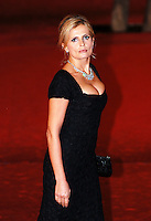 ISABELLA FERRARI.arrives at the Patricia McQueeney Award Dinner Party Hosted By Vanity Fair on the eighth day of Rome Film Festival (Festa Internazionale di Roma) at the Etruscan Museum Valle Giulia, Rome, Italy, October 20th 2006..half length red carpet black dress.Ref: CAV.www.capitalpictures.com.sales@capitalpictures.com.©Luca Cavallari/Capital Pictures.
