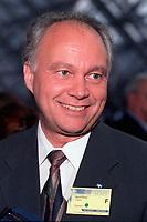 David Cliche, Ministre et depute de Vimont (PQ) , le 5 mai 2000 au Palais des congres<br /> <br /> <br /> PHOTO :   Agence Quebec Presse