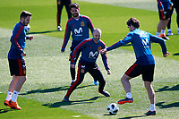 Spain's Saul Niguez, Isco Alarcon, Andres Iniesta and Marcos Alonso during training session. March 21,2018.(ALTERPHOTOS/Acero) /NortePhoto.com NORTEPHOTOMEXICO