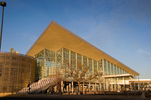 Colorado Convention Center, Denver, Colorado, USA John offers private photo tours of Denver, Boulder and Rocky Mountain National Park.