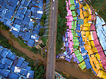 Colourful rooftops by Razman Izzuddin