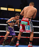 CARSON, CA - MAY 1: Omar Figueroa Jr. vs Abel Ramos on the Fox Sports PBC Pay-Per-View fight on May 1, 2021 at Dignity Health Sports Park in Carson, CA. (Photo by Frank Micelotta/Fox Sports/PictureGroup)