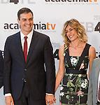 Pedro Sanchez, president of Partido Socialista, before the four political debate between, the leaders of Ciudadanos, Unidos Podemos, Partido Socialista and Partido Popular, before the elections of july 26 Jun 13,2016. (ALTERPHOTOS/Rodrigo Jimenez)