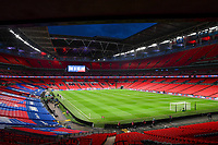 25th March 2021; Wembley Stadium, London, England;  General view inside the stadium Wembley prior to the World Cup 2022 Qualification match between England and San Marino at Wembley Stadium in London, England.