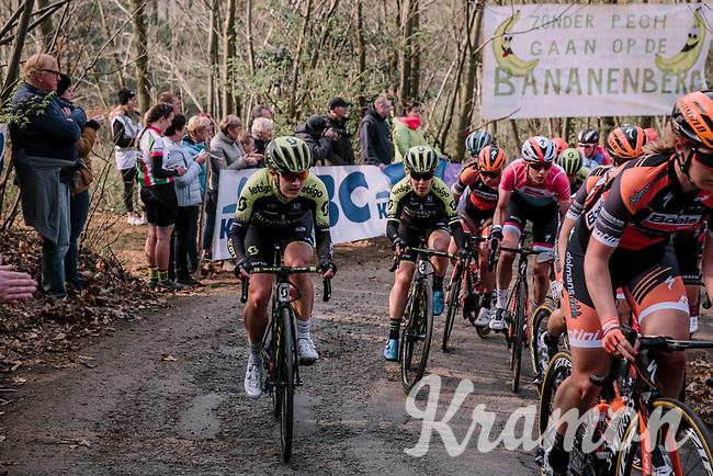 8th Gent-Wevelgem In Flanders Fields 2019 <br /> Elite Womens Race (1.WWT)<br /> <br /> One day race from Ypres (Ieper) to Wevelgem (BEL/137km)<br /> ©JojoHarper for Kramon