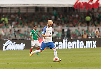 Mexico City, Mexico - Sunday June 11, 2017: Michael Bradley during a 2018 FIFA World Cup Qualifying Final Round match with both men's national teams of the United States (USA) and Mexico (MEX) playing to a 1-1 draw at Azteca Stadium.
