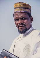 Middle-aged Nigerien Government Official, Niamey, Niger.
