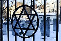 POLEN Krakow Krakov, jewtown, jewish cemetery