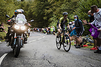 Mikel Nieve (ESP/Mitchelton-Scott) up the Col de Marie Blanque<br /> <br /> Stage 9 from Pau to Laruns 153km<br /> 107th Tour de France 2020 (2.UWT)<br /> (the 'postponed edition' held in september)<br /> ©kramon
