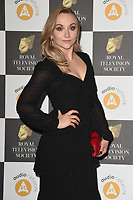 Alice Feetham<br /> arriving for the RTS Awards 2019 at the Grosvenor House Hotel, London<br /> <br /> ©Ash Knotek  D3489  19/03/2019
