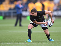 29th May 2021; Sixways Stadium, Worcester, Worcestershire, England; Premiership Rugby, Worcester Warriors versus Leicester Tigers; Ben Youngs of Leicester Tigers warms up