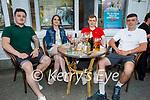 Enjoying the evening in the Grand Hotel on Friday, l to r: Ryan Murphy, Aisling O'Carroll, Jordan Christy and Dwayne Prendergast.